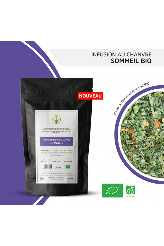 Infusion CBD sommeil